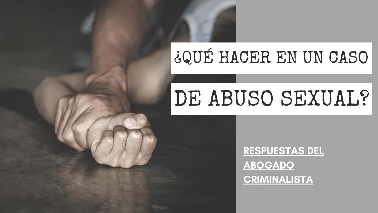 CASO DE ABUSO SEXUAL
