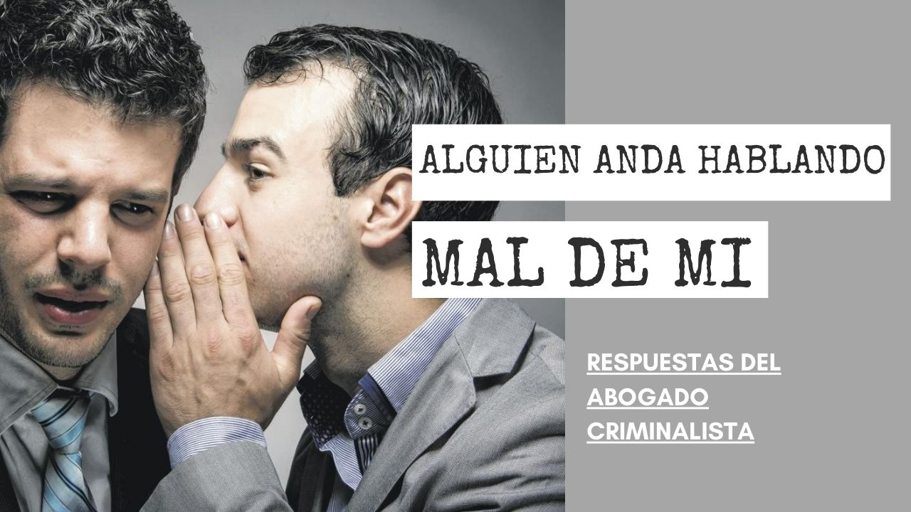 HABLANDO MAL DE MI